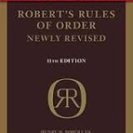 Cover of Robert's Rules of Order