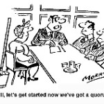 cartoon about quorum