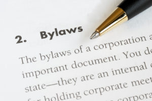 amend bylaws